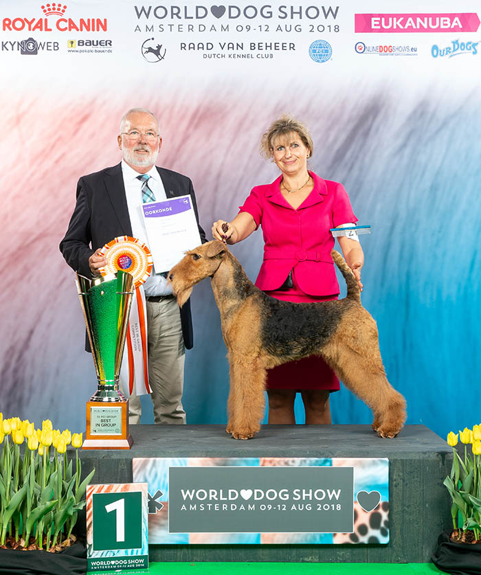 Best in Show @ Hatboro 2017 - GCH Trident of Poseidon